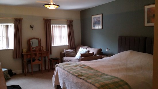 Brechfa, UK: Our lovely ground floor room