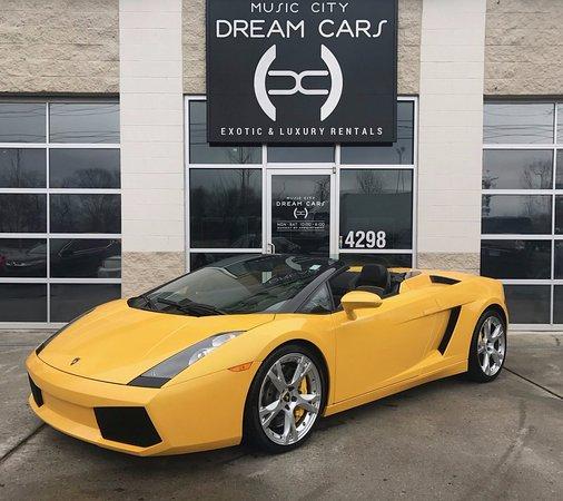 Lamborghini Gallardo Spyder Picture Of Music City Dream Cars