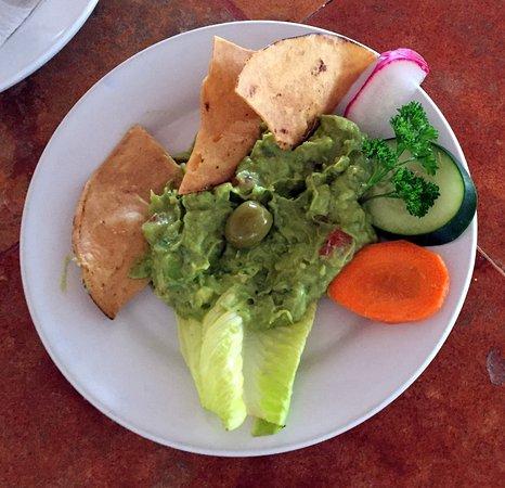 Nachi Cocom Beach Club & Water Sport Center: guacamole