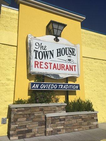Oviedo Townhouse Restaurant Menu