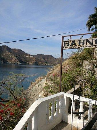 Hotel Bahia Taganga: Vista desde el Hotel Bahía Taganga