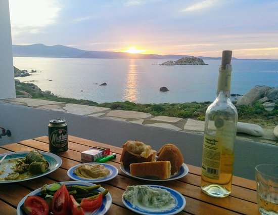 Mikri Vigla, Greece: view from our terrace