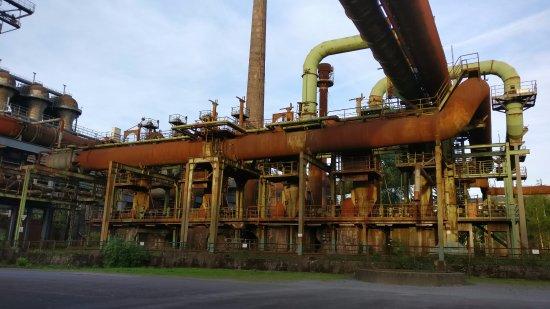 Landschaftspark: Alte Industrieanlage