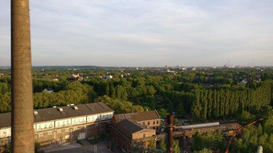 Landschaftspark: Aussicht vom Hochofen