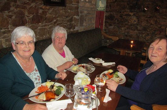 Dromod, Ireland: Such a relaxed setting to come back to and dine in the evening