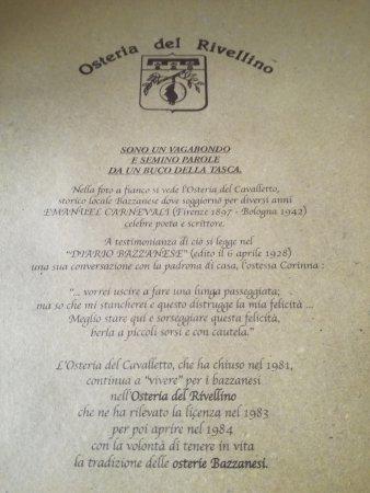 Foto de Osteria del Rivellino