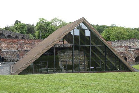 The Old Furnace, Coalbrookdale Museum of Iron, Ironbridge Gorge.