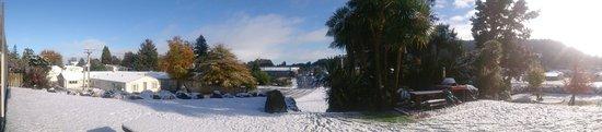 Ohakune, New Zealand: Beautiful town, and beautiful lodge!