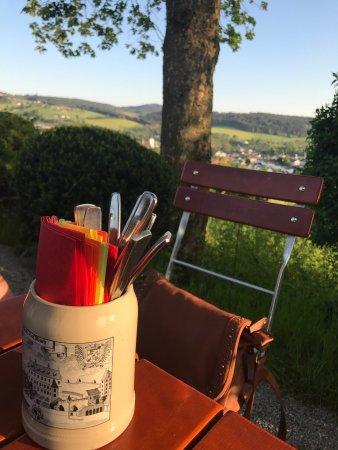 Regen, Germany: Leckeres Essen und wundervoller Ausblick