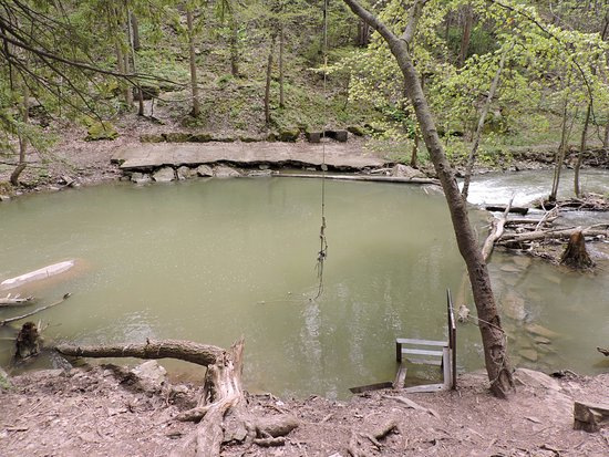 St. Catharines, Kanada: One swimming hole down the river