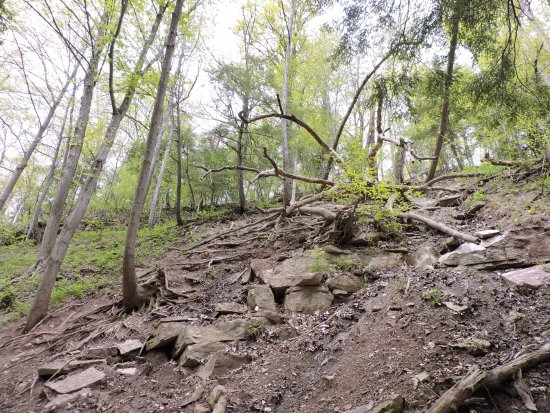 St. Catharines, Kanada: Rocky and challenging trek up