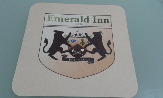 Emerald, Australien: The Logo!