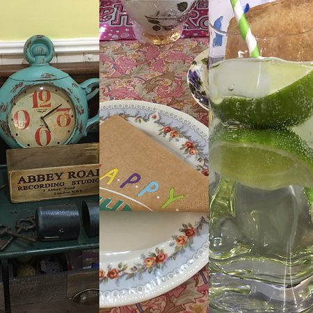 Aylesford, UK: Afternoon tea/ unusual gifts / refreshing lime and soda