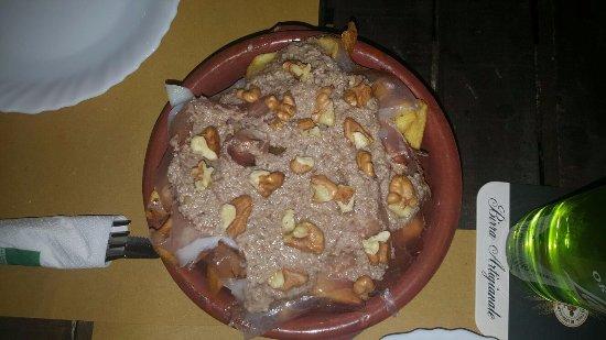 Palma Campania, İtalya: Patate Speck e Crema alle Noci