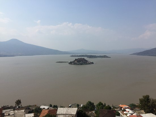 Isla Janitzio: View from the top of the monument