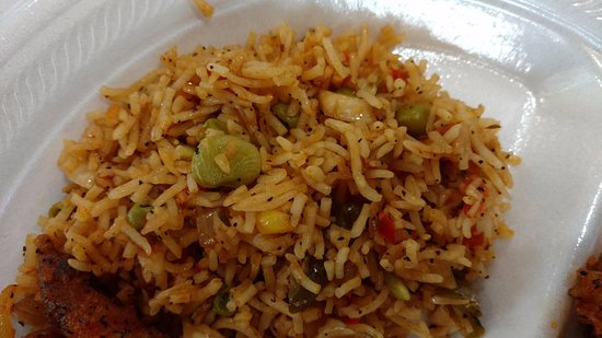 Vernon Hills, IL: fried rice