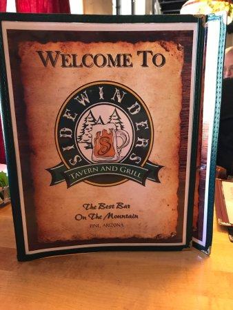 Pine, AZ: Sidewinders Tavern & Grill