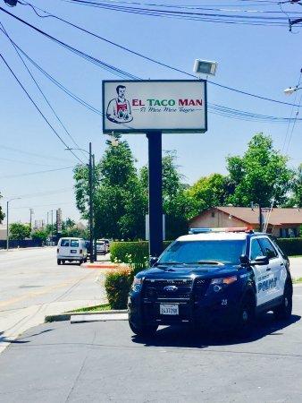 El Monte, CA: El Taco Man