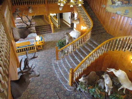 lobby view from upper level picture of stage coach inn west rh tripadvisor com