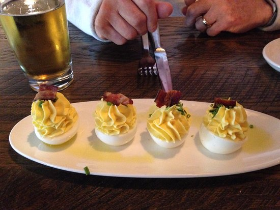 Westmont, IL: Deviled Egg Shareable w Bacon