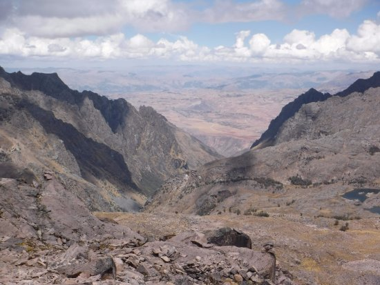 Lares Trek: Its all down hill from here