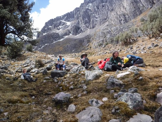 Lares Trek: Catching our breath