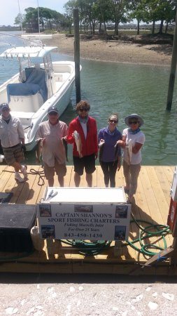Catch-1 Charters - Capt. Shannon's Fishing Charters: A good catch today