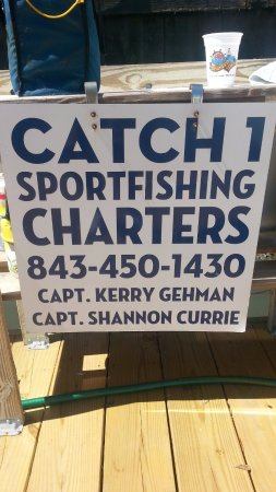 Catch-1 Charters - Capt. Shannon's Fishing Charters: Call....for reservations