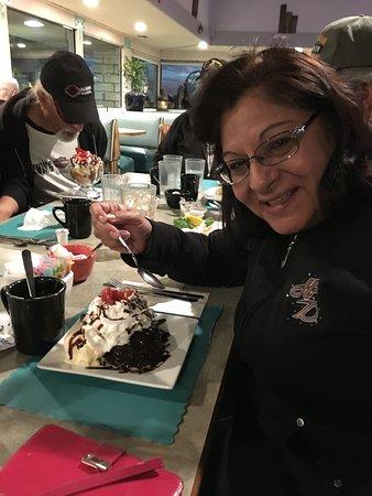 Arroyo Grande, CA: Chocolate Lava cake.