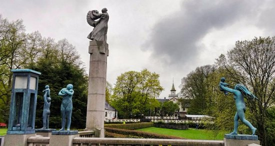 Vigeland Museum: Some of the artwork