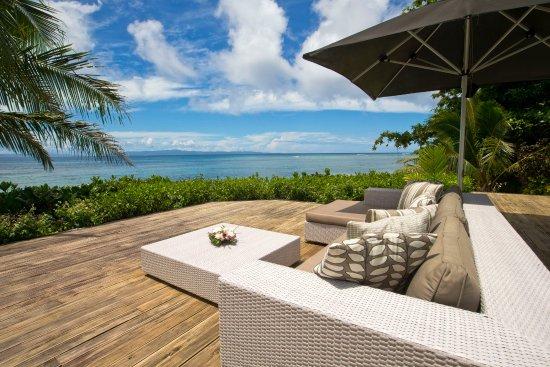 Matei, Фиджи: Beach Villa pool deck