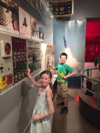 """National Museum of the United States Navy: Submarine """"control room"""" National Museum of US Navy 05-19-2017"""
