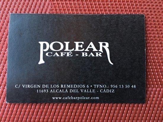 Alcalá del Valle, España: Cafe Bar Polear