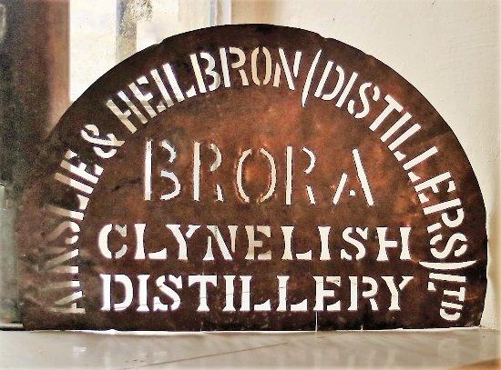Brora, UK: Historical stencil
