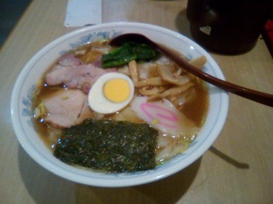 Shirakawa, Japan: ワンタン麺