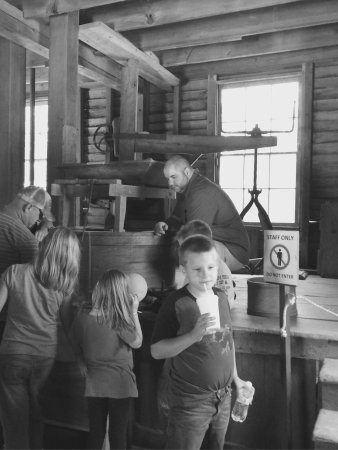 Great Smoky Mountains National Park, NC: The Mill (building) is open between April - November, with a Miller demonstrating, between 9:00-