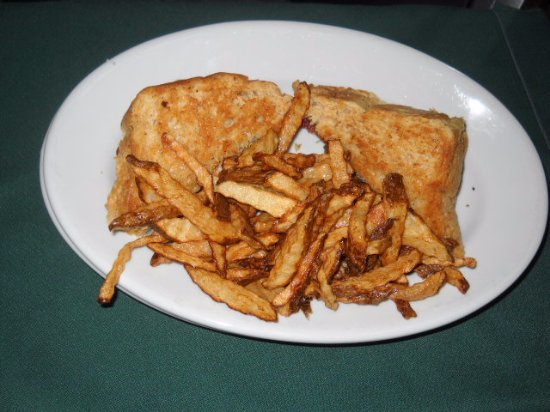 Taber, Canadá: Sandwich and fries