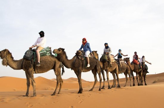 3-Day tour to Merzouga Dunes from...