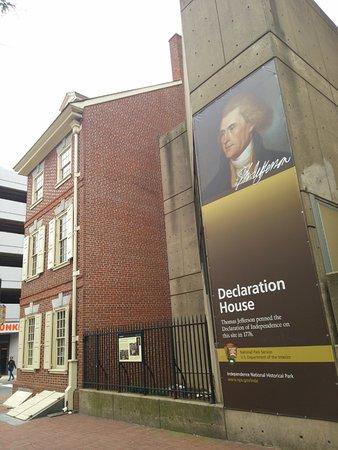 Declaration House (Graff House): 外観です