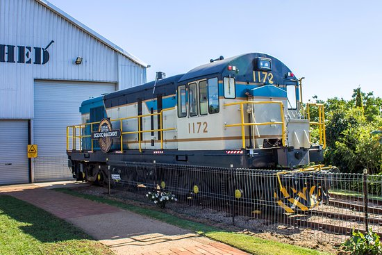 Toowoomba, Australia: Our Diesel electric Locomotive 1172