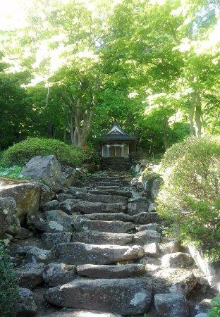 Kuroishi, Japón: A beautiful path to walk around in the site
