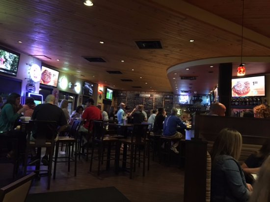 Dublin, OH: About 1/2 of the bar/eating areas.