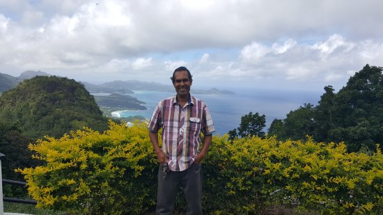 Anse La Mouche, Seychelles: Antoine, the best tour guide ever!