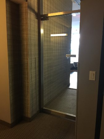 The Lex NYC Unsecured door from front lobby to rooms on first floor & Unsecured door from front lobby to rooms on first floor - Picture of ...