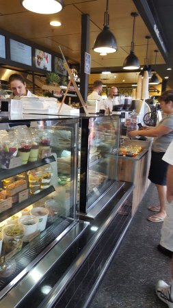 Frewville, Australia: Mr Nicks display ad service inside the main Foodland store