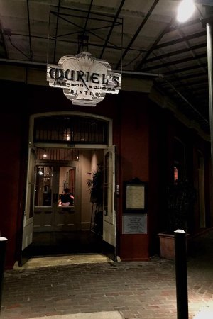 Muriel's Jackson Square: Entrance