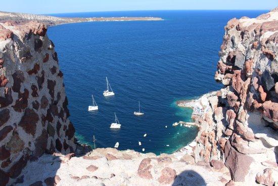 Karterádhos, اليونان: view from Oia