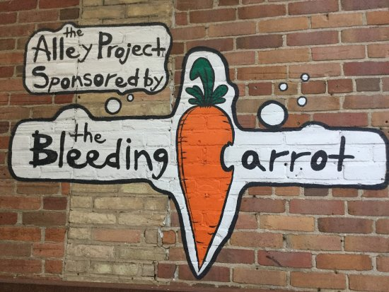Owen Sound, Kanada: Bleeding Carrot mural