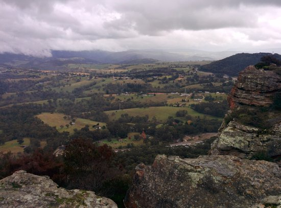 Lithgow, Australia: View from Hassan's Walls Lookout