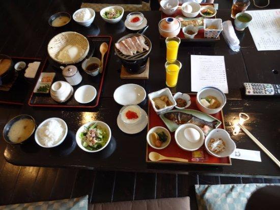 Maebashi, Япония: 朝食